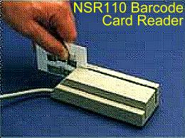 Opticon NSR110 Barcode Card Reader
